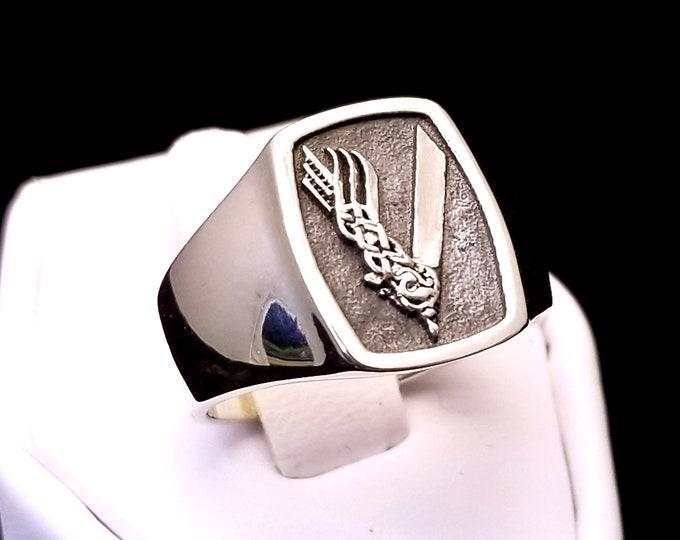 Viking Ring .995 Silver