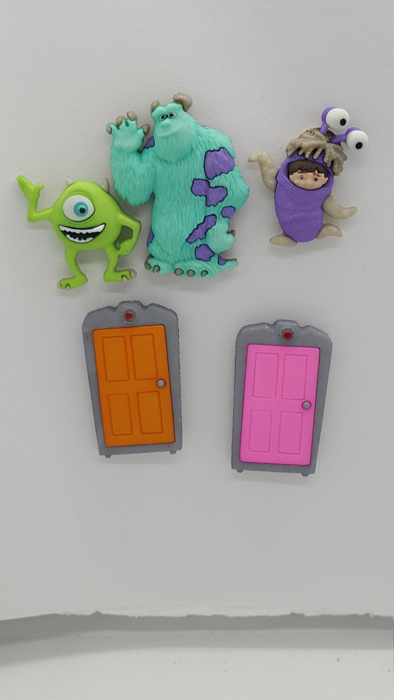 Monsters Inc  Characters Lapel Pin/Tie Tack