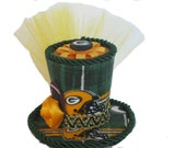 40bc6c67 Items similar to NFL Green Bay Packers Mini Top Hat on Etsy
