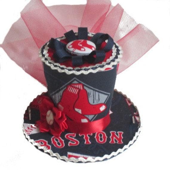 Superb Boston Red Sox Mini Top Hat Etsy Birthday Cards Printable Nowaargucafe Filternl