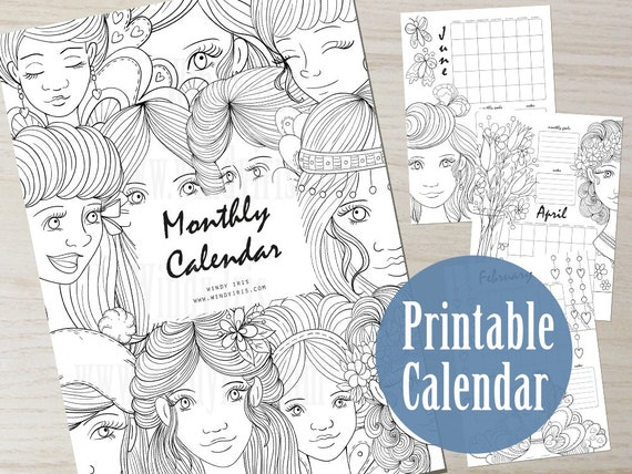 12 Best Month Coloring Pages images | Coloring pages, Free ... | 427x570