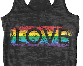 Funny Rainbow Themed Pride Shirts Mens Pride Tank Tops