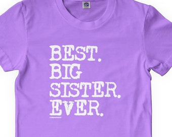 Best Big Sister Ever Girls' Youth T-shirt
