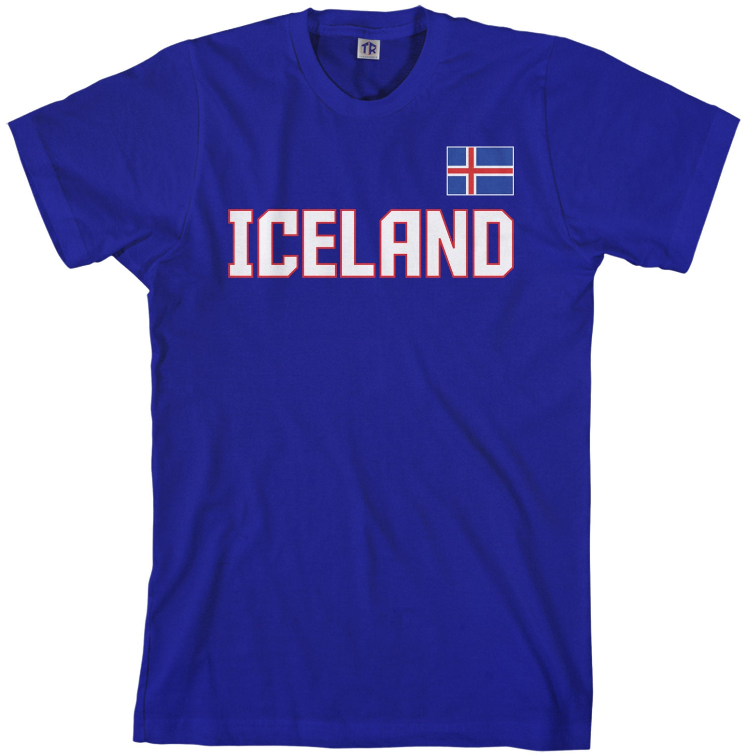 Iceland National Team Mens T-shirt Icelandic Flag Nordic Island Football Reykjavik Republic Soccer - Ta_00306 Unisex Tshirt