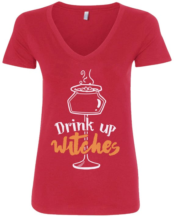 Threadrock Women/'s Good Witch T-shirt Funny Halloween Witchcraft