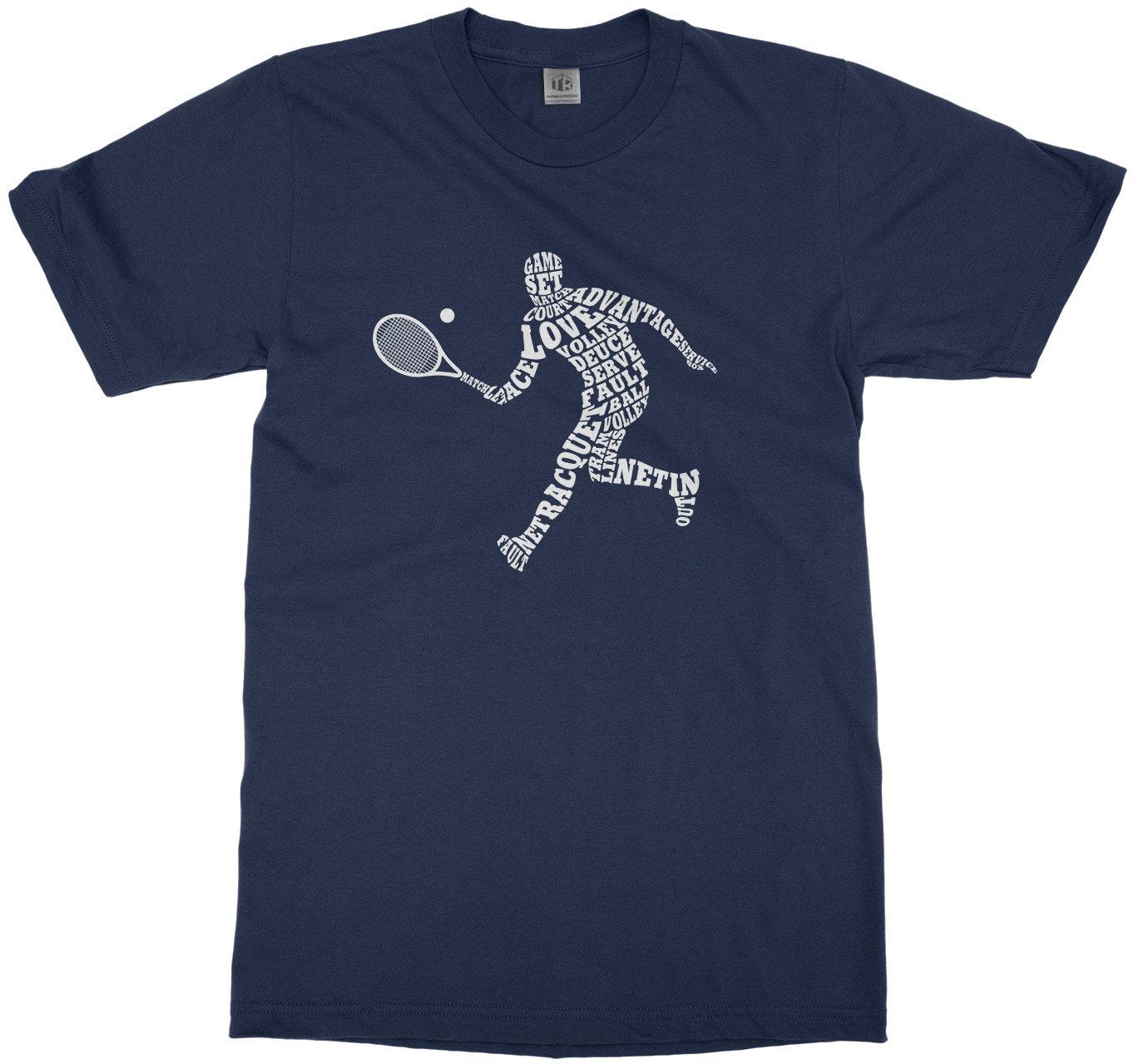 Boys Tennis Player Typography - Boys Youth Long And Short Sleeve T-shirt Unisex Tshirt
