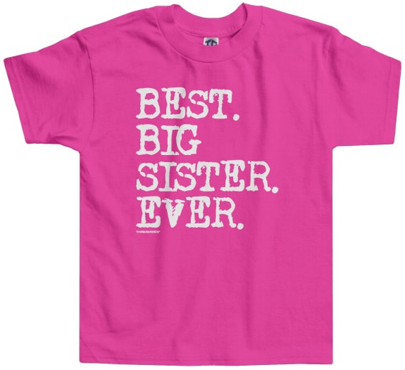 Threadrock Kids I/'m Getting Promoted To Big Sister Youth T-shirt
