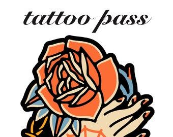 Fast Doll Tattoo Pass