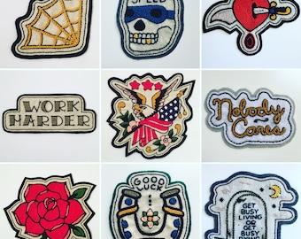 Custom felt patch - Greenwich Vintage Co logo