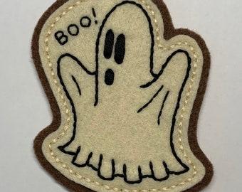BOO! Halloween sheet ghost patch