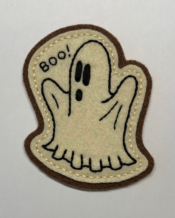BOO! Halloween sheet ghost patch