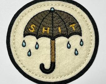 SHIT storm umbrella patch