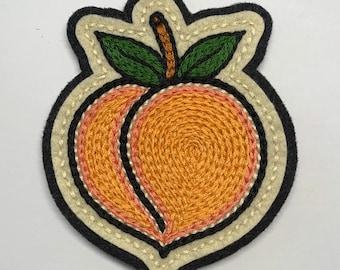 Pink & orange peach patch