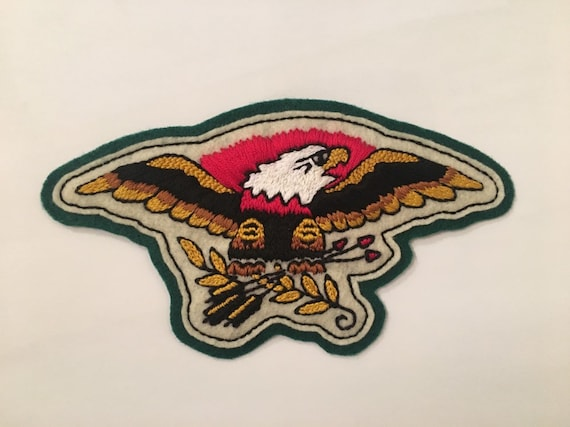 Sailor Jerry small American bald eagle patch