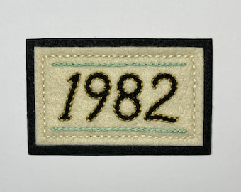Choose Your Year patch - customized