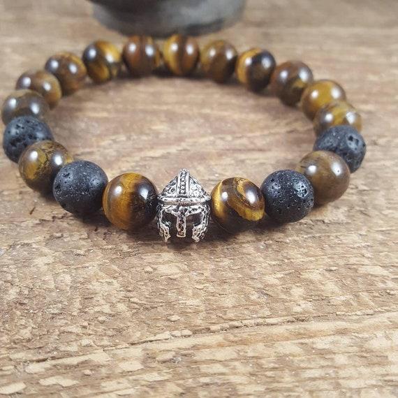 Men S Mala Bracelet Mala Beads Protection And Grounded Etsy