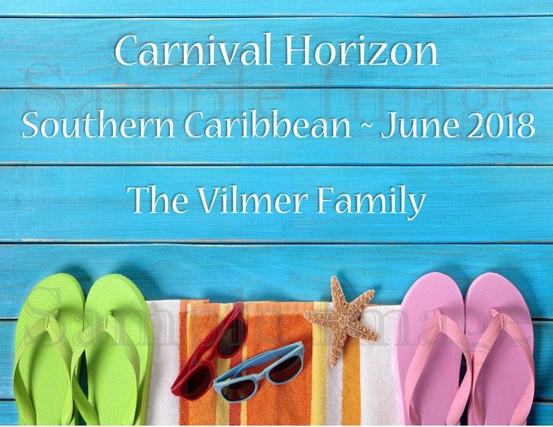 Cruise Door Magnet Carnival Norwegian Royal Caribbean Etsy