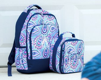 7d97a5434486 Sophie Personalized Girls Backpack Set