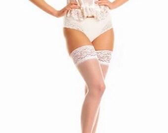 c9b544ba8cc 4 Colors White Wedding Bride Tights Stockings Lace Cream Ecri Pantyhose  Wedding Lingerie Mod Tights