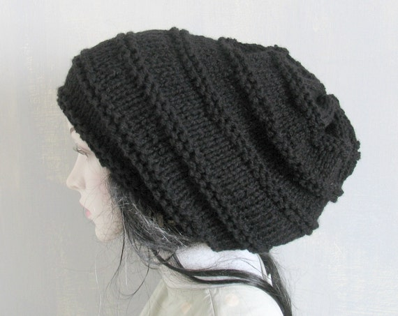 Super Slouchy Beanie Big Slouch Baggy Hat Winter Adult Teen  6363cc37a4c