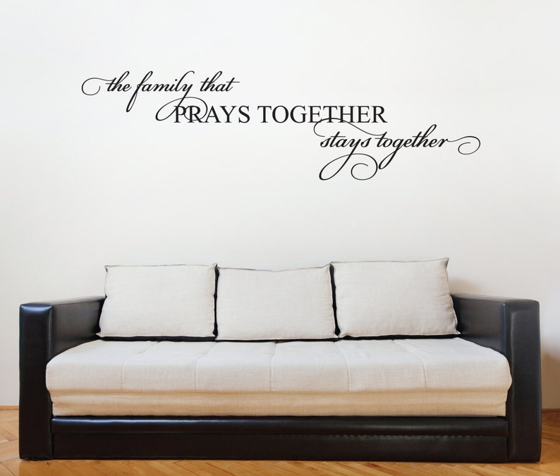 family quote vinyl wall lettering family saying for wall art   etsy