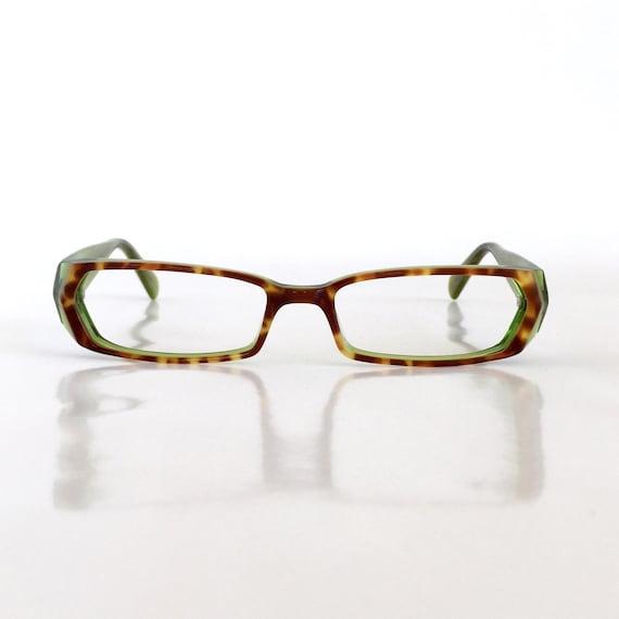 0b650d21c8 Women s Brown Tortoise   Green Reading Glasses Custom