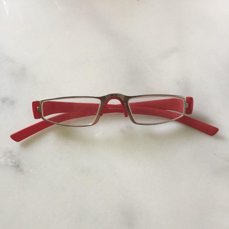 863c3fac11 Designer Inspired Porsche Reading Glasses Matte Red Readers