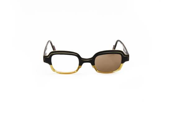 7167bd568723 Yellow Square Reading Glasses Black and Tortoise Eye Glasses