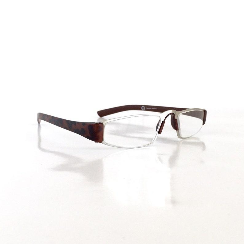 54f8a082a4 Designer Inspired Porsche Reading Glasses Matte Brown