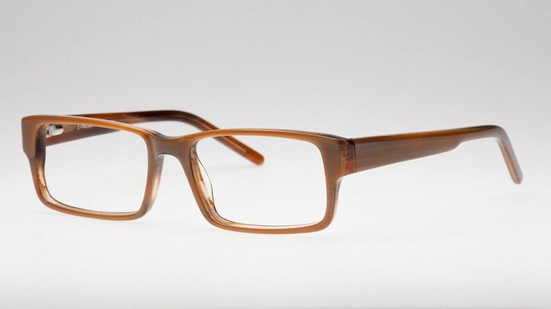 25be8f8012d4 Brown Rectangular Reading Glasses Reading Glasses for Men