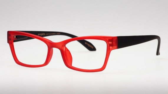 Red Eyeglass Frames Reading Glasses Red Eye Glasses | Etsy