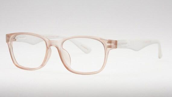 Nude Reading Glasses Clear Frame Glasses Wayfarer Glasses | Etsy
