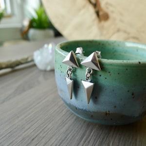 Necklace Geometric Shape 3D Geometric Simple Sphere Geometric Geometric Necklace Modern Jewelry Geometric Jewelry Sterling Silver