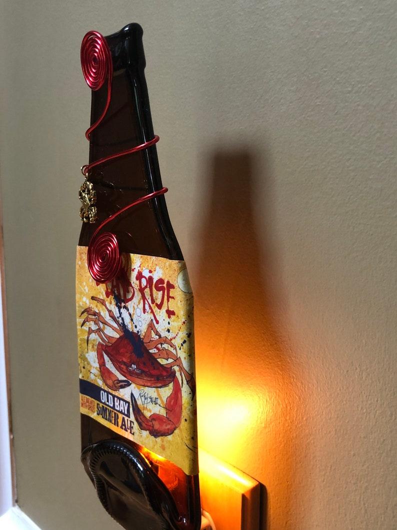 008 Flying Dog Brewery Dead Rise Summer Ale bottle Night Light Old Bay beer