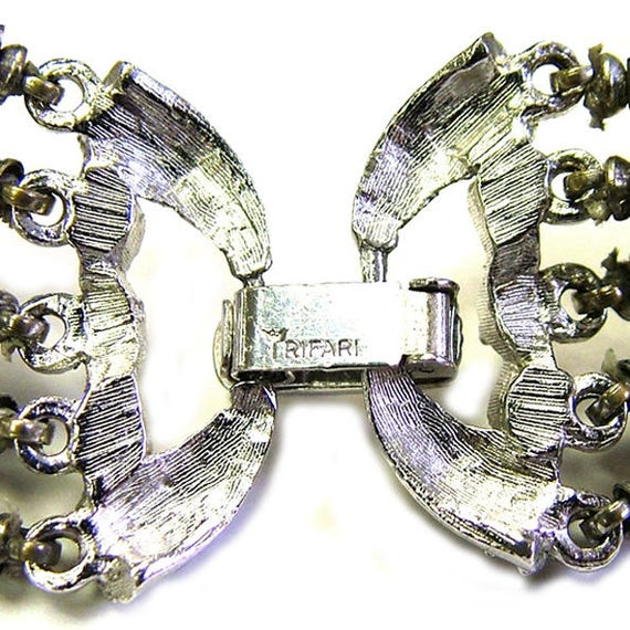 Trifari Electra set,Trifari bracelet, Trifari ear… - image 7