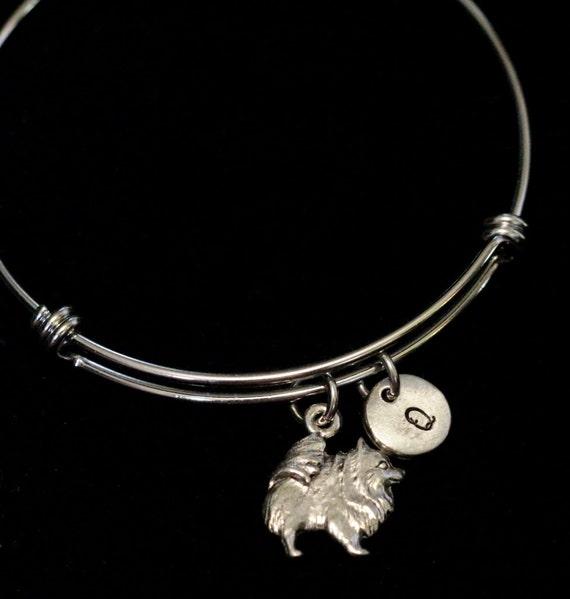 1a3a5ef3b Pomeranian Bangle Bracelet Dog Bracelet Dog Charm Stainless | Etsy