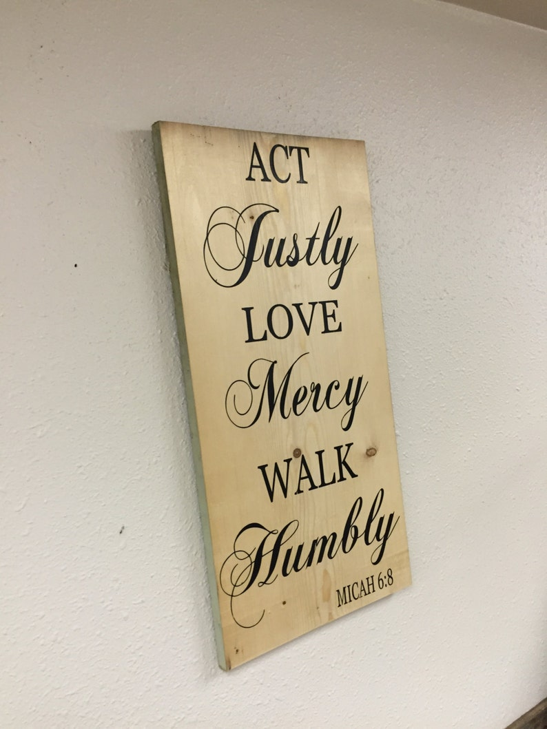 1812+ Act Justly Love Mercy Walk Humbly Svg by CalaDesign