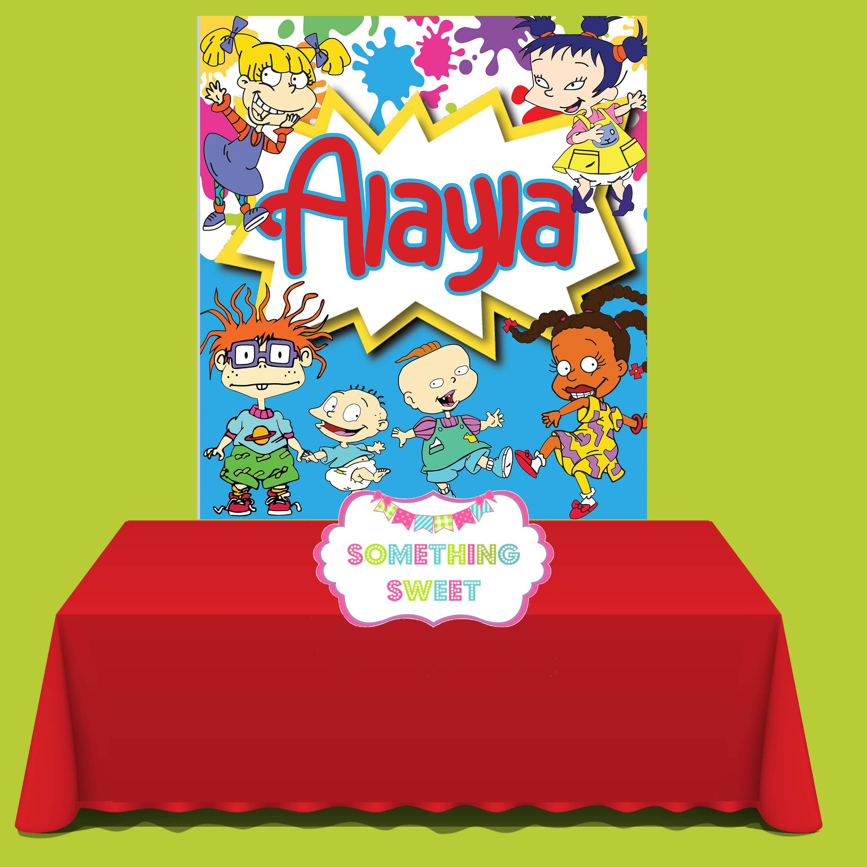 Rugrats Backdrop Rugrats Party Theme Rugrats Birthday Etsy