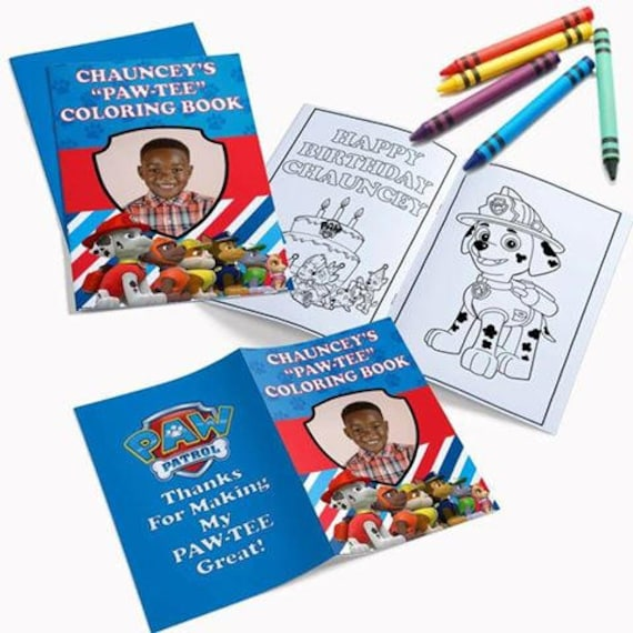Personalized Coloring Books | Etsy