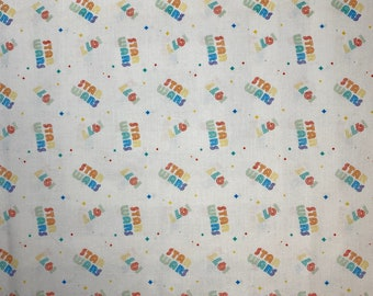 NEW Disney Star Wars 1977 100% Cotton Fabric FAT QUARTERS or Continuous Yardage **Ships from California ##Click Item Details