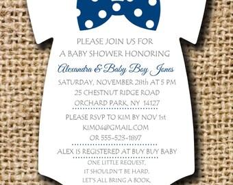 Baby shower invitation onesie invitation baby shower diaper etsy onesie baby shower invitation filmwisefo