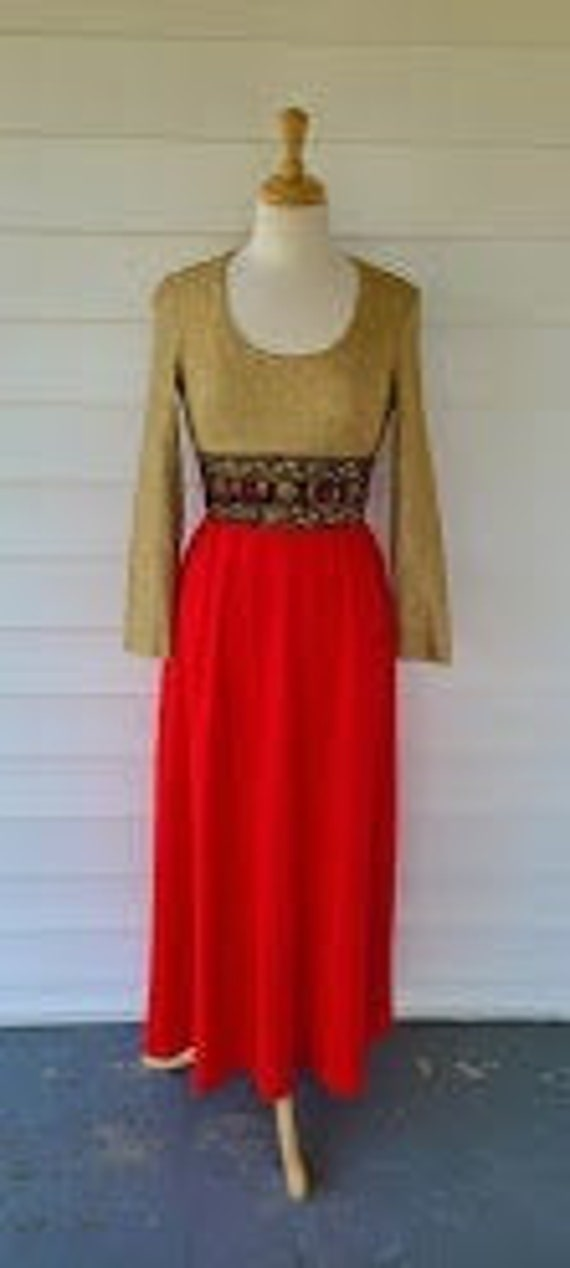 1960's Parade New York Gown