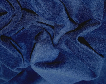 "Navy Blue - Polar Fleece Fabric - Metre/Half - Anti Pil - 59"" (150cm) wide"