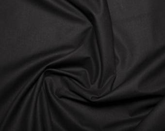 "Black - Extra Wide Cotton Sheeting Fabric 100% Cotton Material - 239cm (94"") wide"