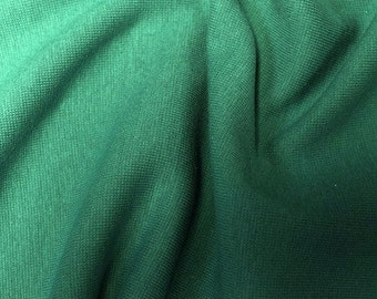 "Petrol Green/Blue - Stretch Cotton Tube Tubing Fabric Material - 37cm round (14.5"") wide"