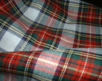 "Stewart Modern Dress - Tartan Fabric - Brushed Cotton - Metre/Half - 59"" (150cm) wide"