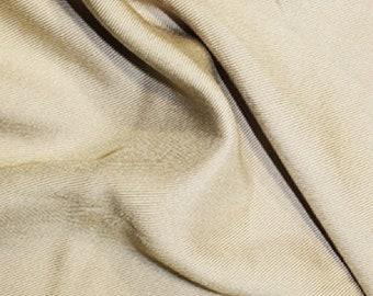 "Nude - Plain Viscose Twill Dress Fabric Material - per Metre/Half - 55"" (140cm) wide"