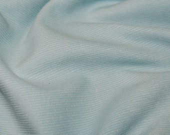 "Pale Blue - Needlecord Cotton Corduroy 21 Wale Fabric Material - 140cm (55"") wide"