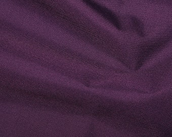"""Purple - Soft Water Repellent Polyester PU Coated Fabric - Plain Solid Colours - 57"""" (145cm) wide"""