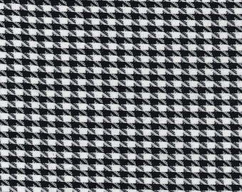 "Big Dog Tooth / Houndstooth Fabric - PolyViscose Suiting Material - Metre/Half - 59"" (150cm) wide"
